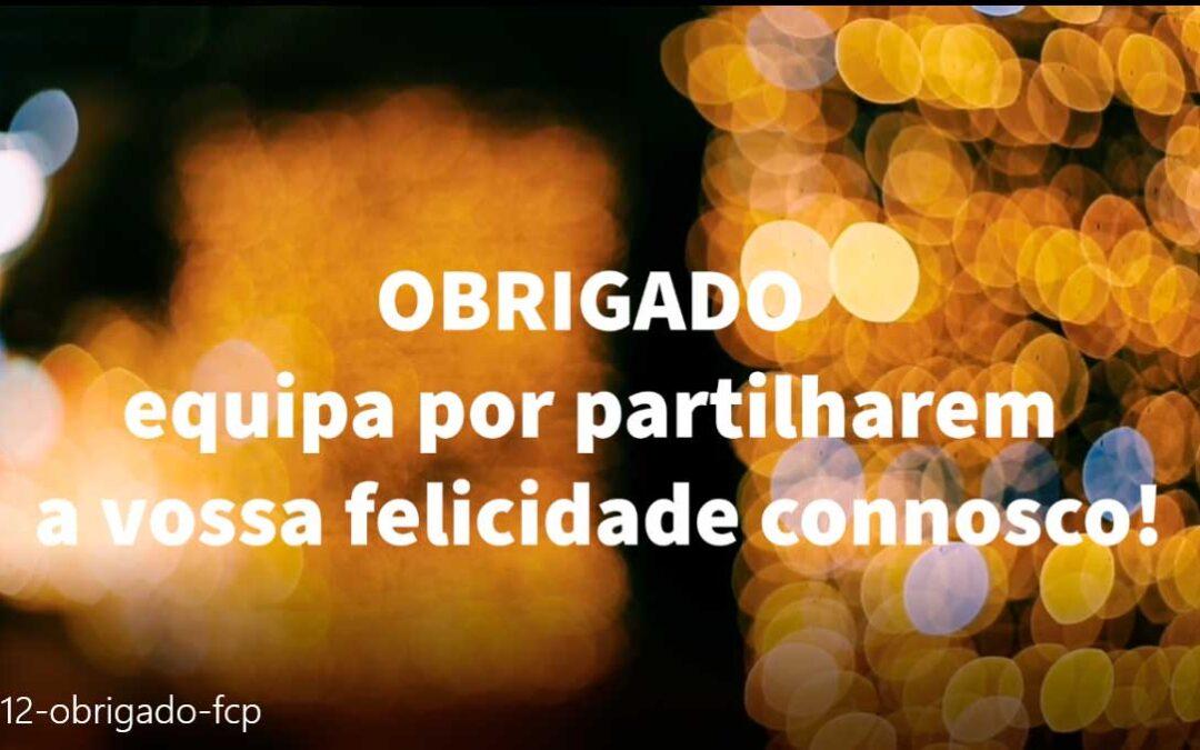Feliz Natal e Obrigado Futebol Clube do Porto